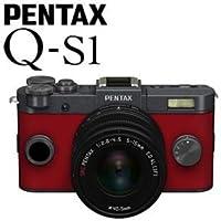 PENTAX ミラーレス一眼デジタルカメラ Q-S1 ズームレンズキット [ガンメタル×カーマインレッド]