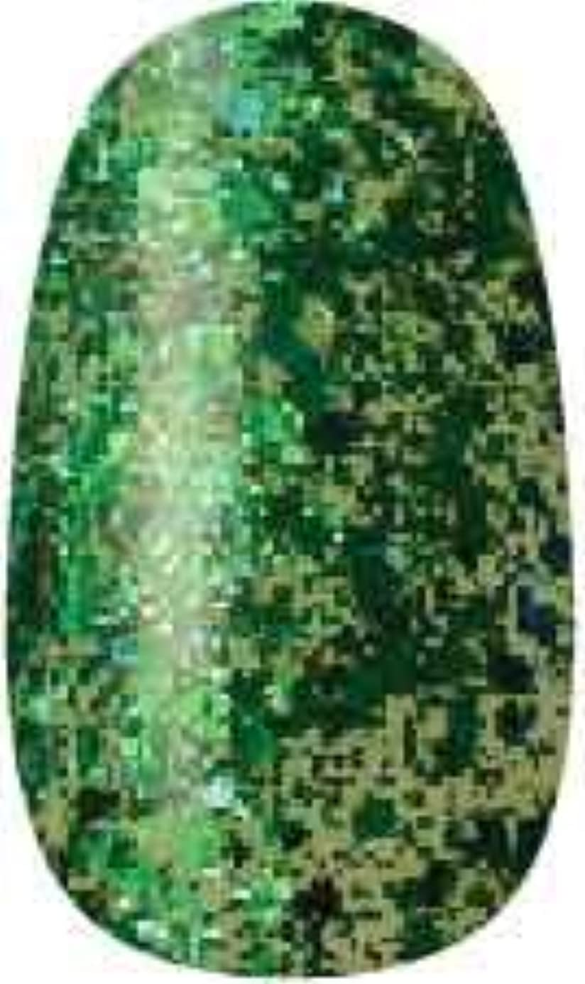ガイド会議宝石ラク カラージェル(89-キラメキグリーン)8g 今話題のラクジェル 素早く仕上カラージェル 抜群の発色とツヤ 国産ポリッシュタイプ オールインワン ワンステップジェルネイル RAKU COLOR GEL #89