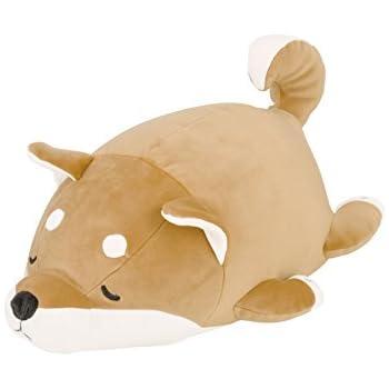 りぶはあと ボルスター マシュマロアニマル 柴犬の柴犬のコタロウ W15xD27xH14cm 48656-44