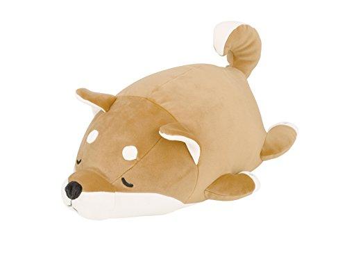 りぶはあと マシュマロアニマルボルスタークッション 柴犬のコタロウ(15x27x14cm) 48656-44