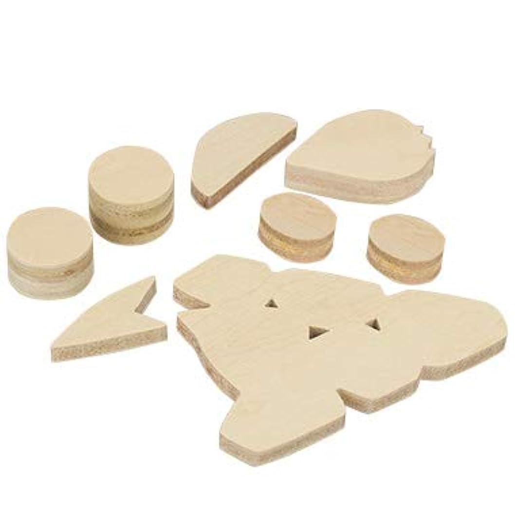 処理する無心長くするアシーナ Wood ショートケーキパーツ 15003307