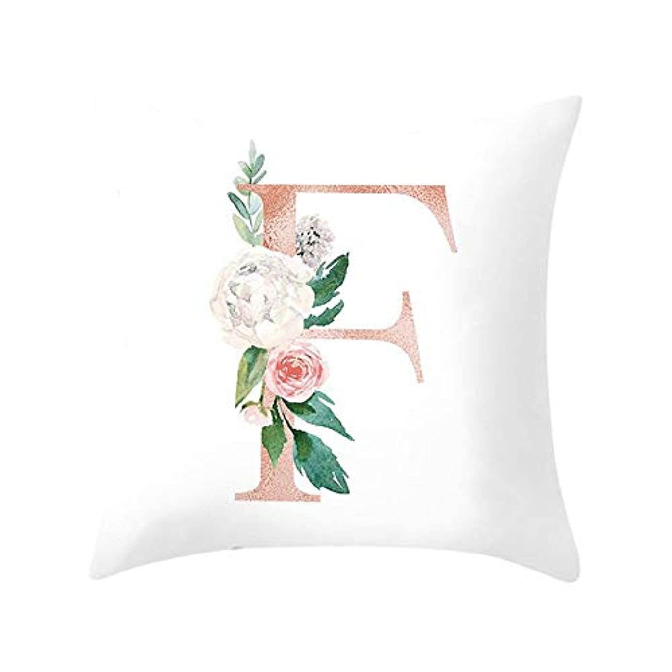 ハムマガジン熱帯のLIFE 装飾クッションソファ手紙枕アルファベットクッション印刷ソファ家の装飾の花枕 coussin decoratif クッション 椅子