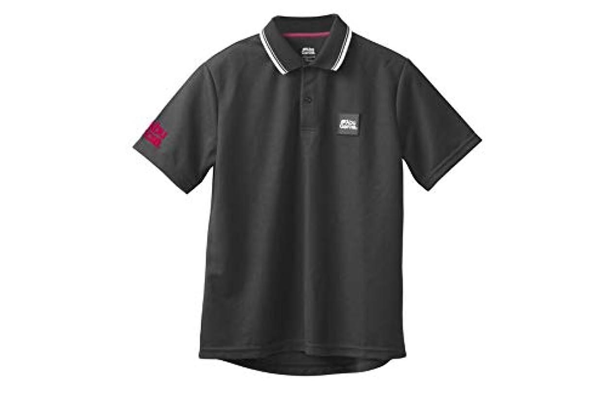 談話不振着飾るアブガルシア(Abu Garcia) ポロシャツ フロッキー速乾ドライポロシャツ ブラック XLサイズ 釣り