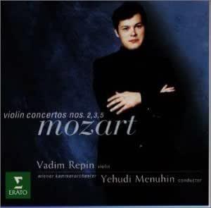 モーツァルト:ヴァイオリン協奏曲第3番/同第2番/同第5番「トルコ風」