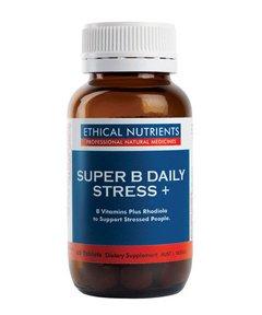 スーパー B デイリー ストレス+(副腎疲労予防 / 活力支援サプリ)[海外直送品]