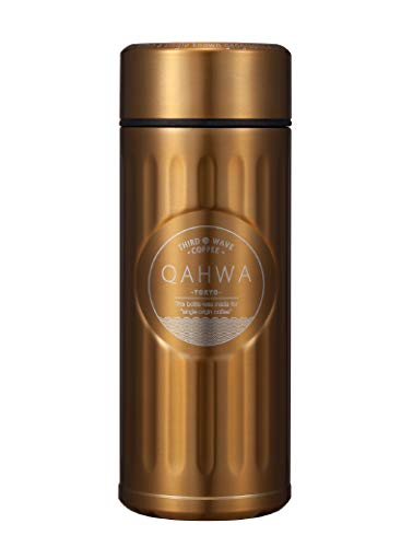 シービージャパン 水筒 ゴールド 420ml 直飲み カフア コーヒー ボトル QAHWA