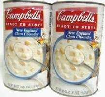 Campbell's クラムチャウダースープ 1.41kg 2缶×96セット