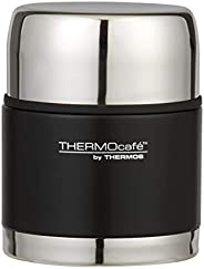 THERMOcafe Vacuum Insulated Stainless Steel Food Jar, 500ml, Matte Black, TV500BLK6AUS