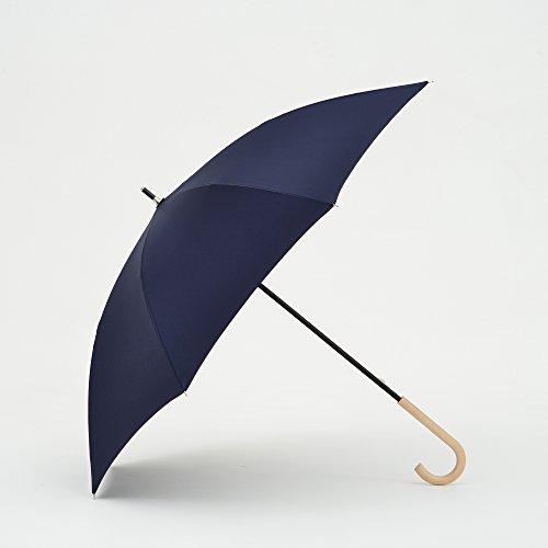 tiohoh-楓の木 傘 メンズ 大きい Teflon超撥水加工 長傘 親骨65cm 耐風 グラスファイバー ブランド おしゃれ ネイビー