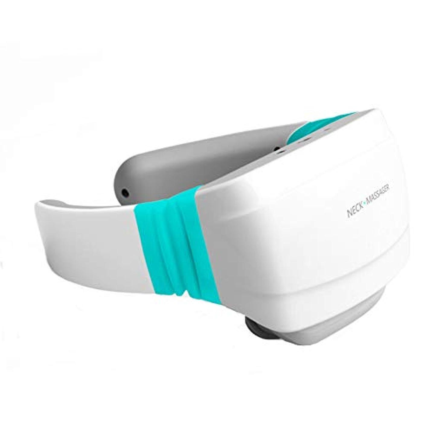 首、家庭での使用、車、オフィス旅行の首のマッサージ機器のための熱深練りマッサージ付き指圧マッサージャー