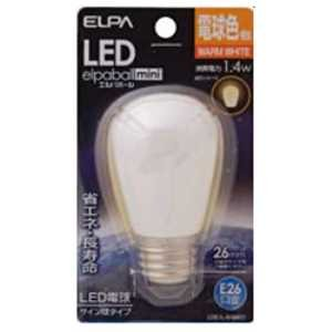 ELPA LED電球 サイン球形 55lm(電球色相当)elpaballmini LDS1L-G-G901