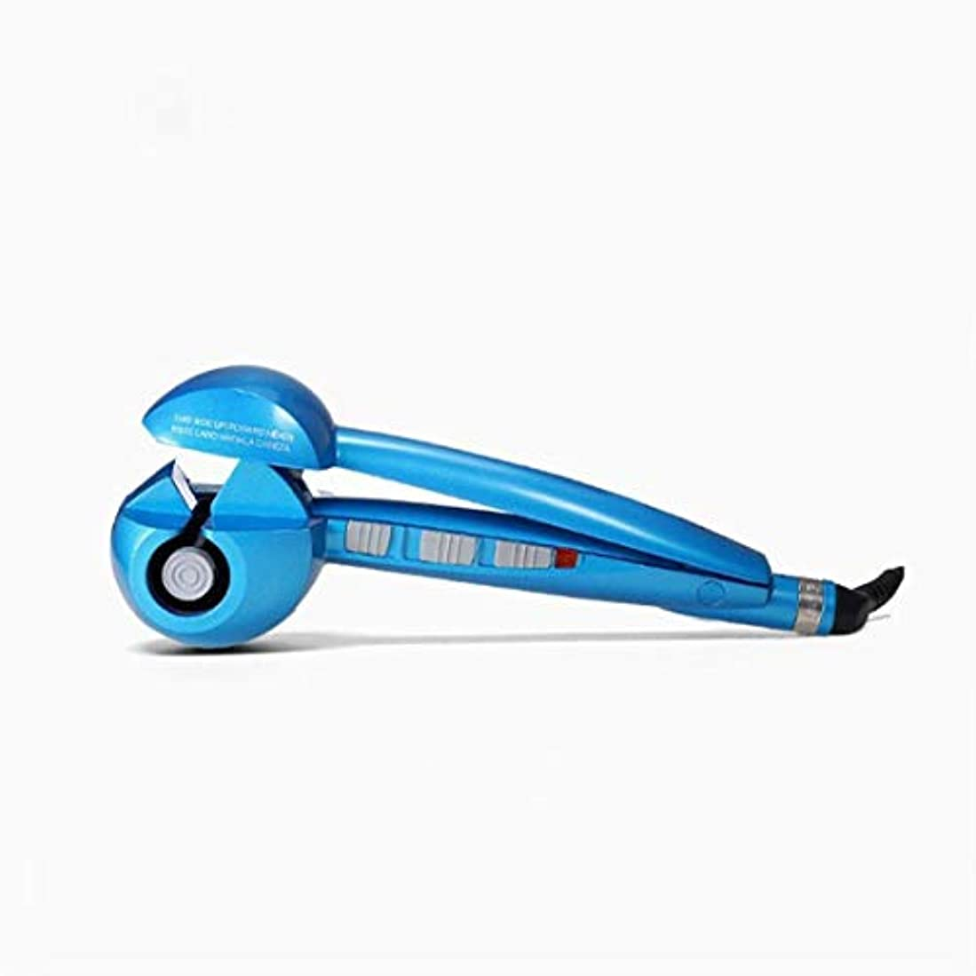 作曲する腹痛フラフープ電動アニオンヘアカーラーアップグレードアイアン自動エアカーリングワンドセラミック回転カーラーヘアスタイリングツールカーラー