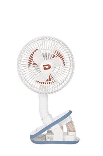 日本育児 おでかけ扇風機 ストローラーファン ホワイト 幅13×奥行き12×高さ30cm 5184136001 12ヶ月以降対象 お出かけに便利なポータブル扇風機!