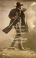 "Wyatt Earp–Framed映画ポスター/印刷(レギュラースタイル)(サイズ: 27"" x 39"" ) Poster Hanger - Black - 27"""