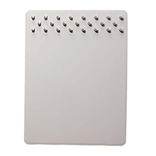 収納 マウスパッド 突起 スタンド スマートフォン 名刺 ケーブル ペン 片付け デスク (ライトグレー) PR-TOKIPAD-LGY