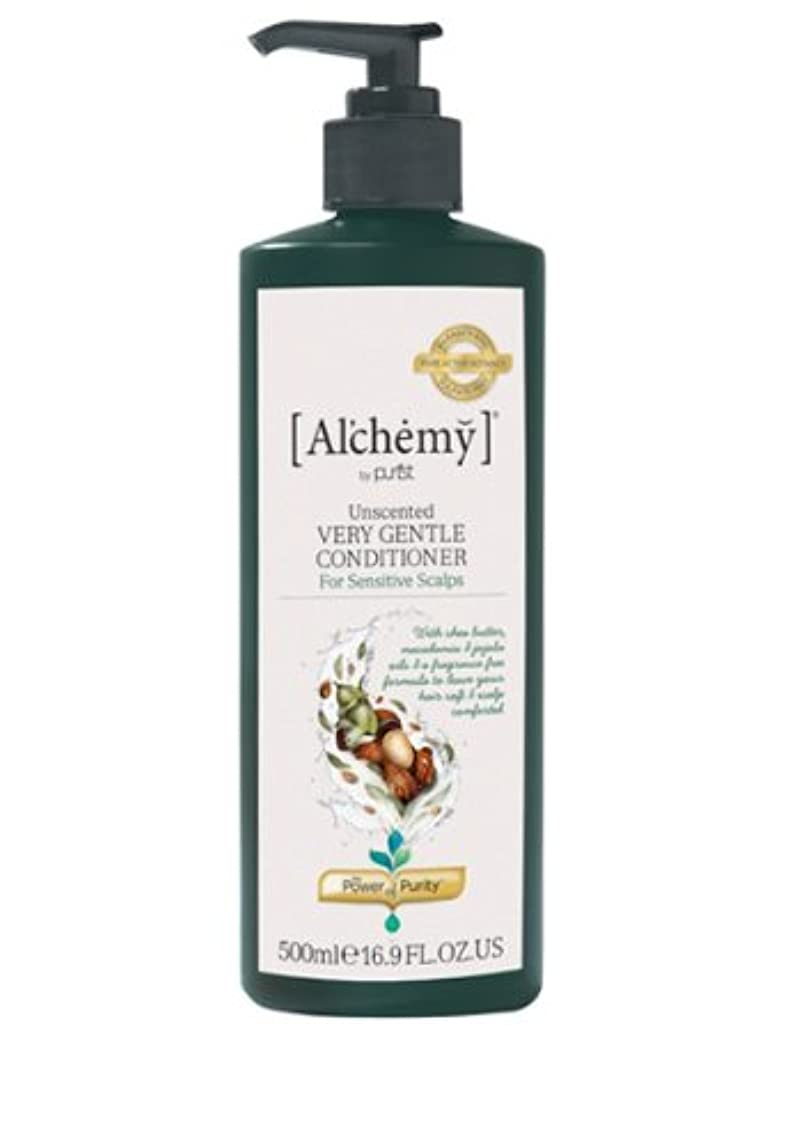 グラス接尾辞遊び場【Al'chemy(alchemy)】アルケミー ベリージェントルコンディショナー(Unscented Very Gentle Conditioner)(敏感肌用)500ml