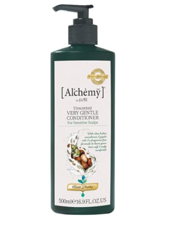 テザー難民緊張する【Al'chemy(alchemy)】アルケミー ベリージェントルコンディショナー(Unscented Very Gentle Conditioner)(敏感肌用)500ml