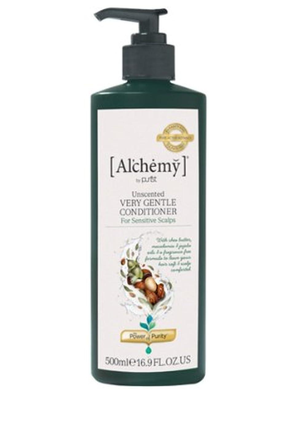 恒久的マダムつまらない【Al'chemy(alchemy)】アルケミー ベリージェントルコンディショナー(Unscented Very Gentle Conditioner)(敏感肌用)500ml