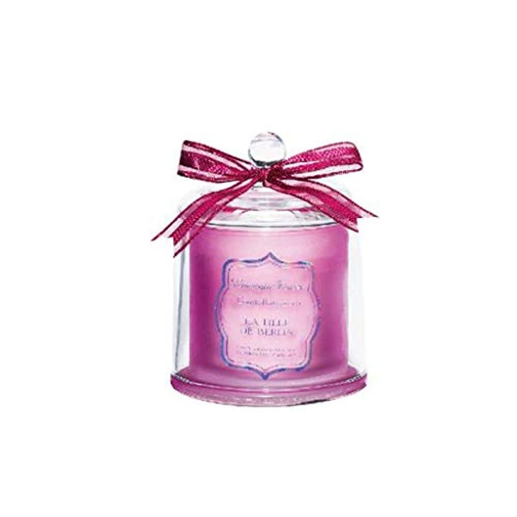 忘れられない気配りのある寺院キャンドル、なだめるような神経オイルの香りのキャンドル、ロマンチックな新しい結婚式のアイテム、自然な新鮮ななだめるような旅行ポータブル香りの無煙キャンドル (Color : Pink)