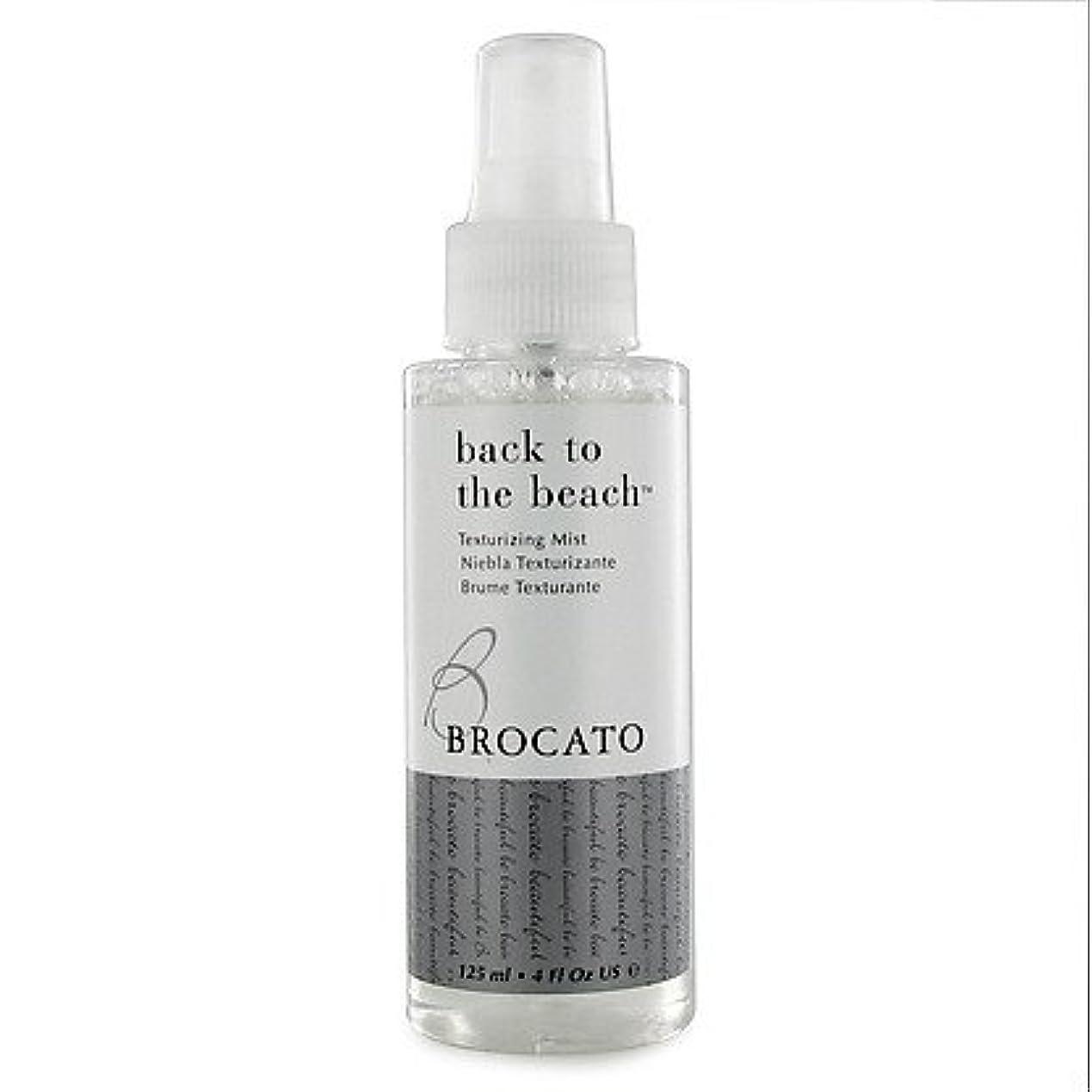 Brocato 戻るBeautopia髪でビーチテクスチャーミスト:テクスチャ&ボリュームヘアスタイリングは、女性のためのスプレー - 4オンス 各