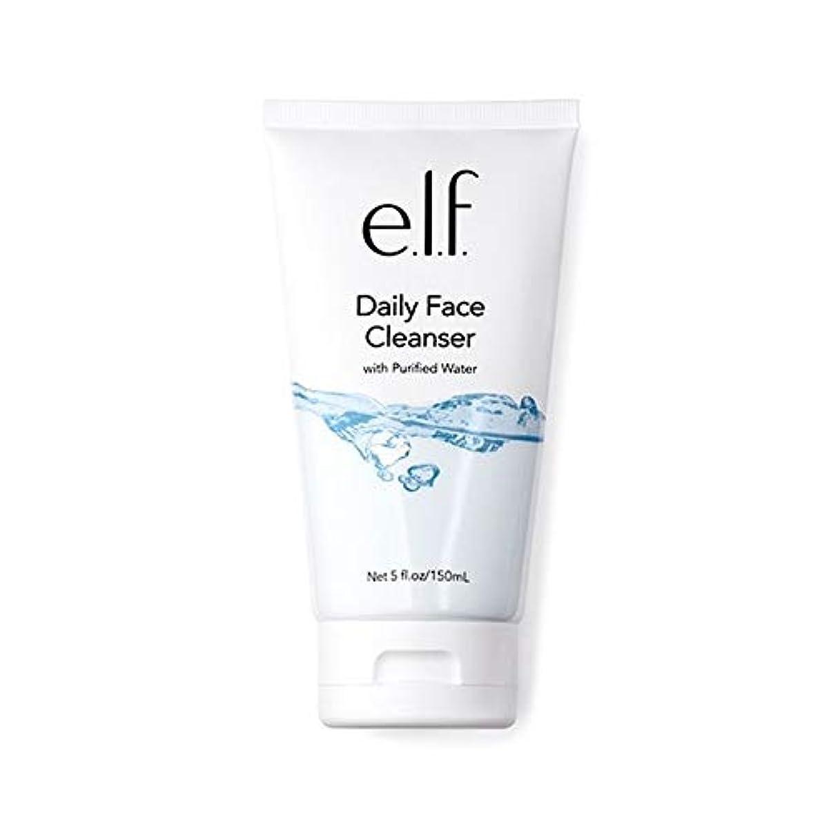 処理するマニアバンガロー[Elf ] エルフ。毎日顔クレンザー150ミリリットル - e.l.f. Daily Face Cleanser 150ml [並行輸入品]