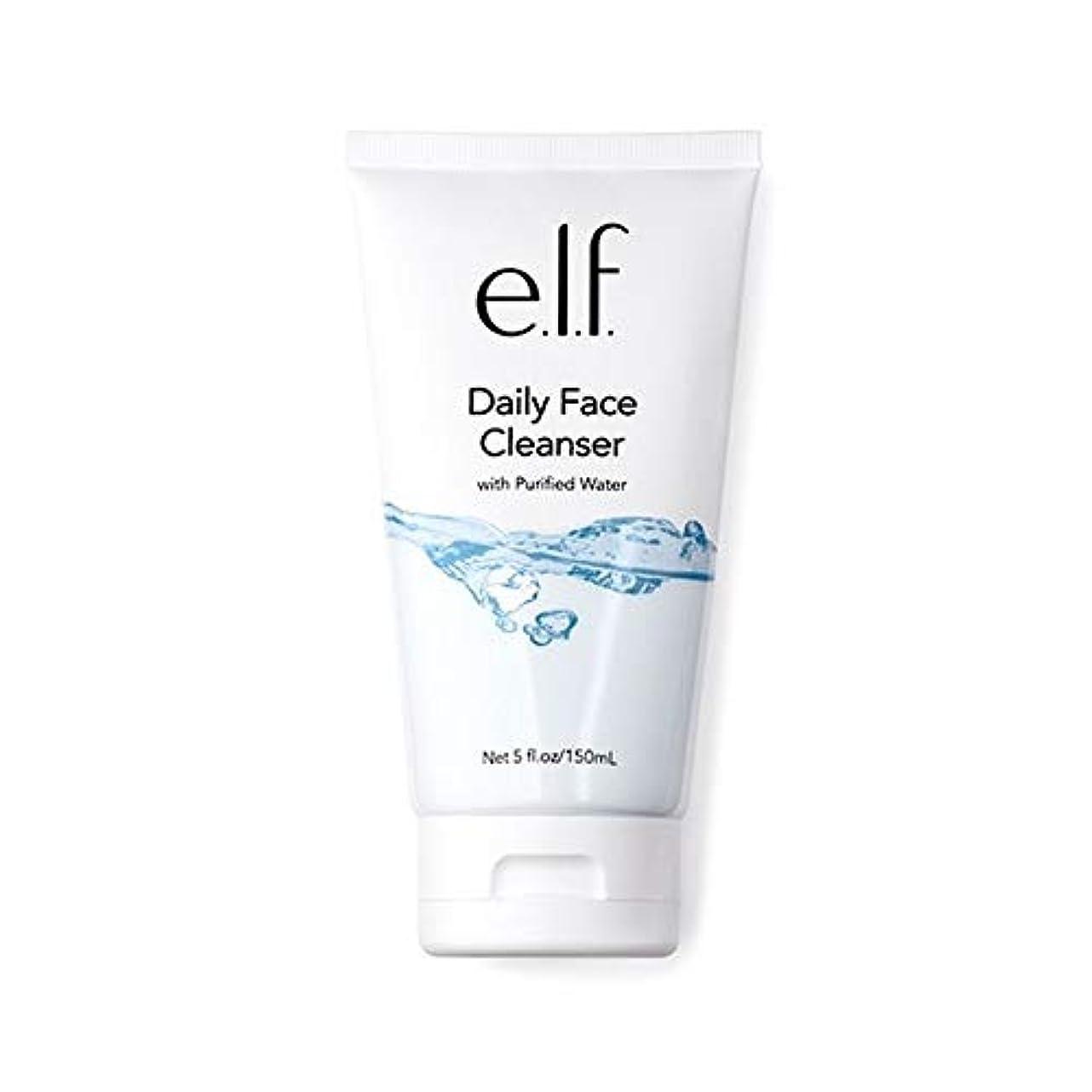 結晶生き物アレルギー[Elf ] エルフ。毎日顔クレンザー150ミリリットル - e.l.f. Daily Face Cleanser 150ml [並行輸入品]