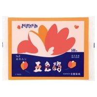 合鹿製紙 おはながみ五色鶴 オレンジ 1パック(500枚)