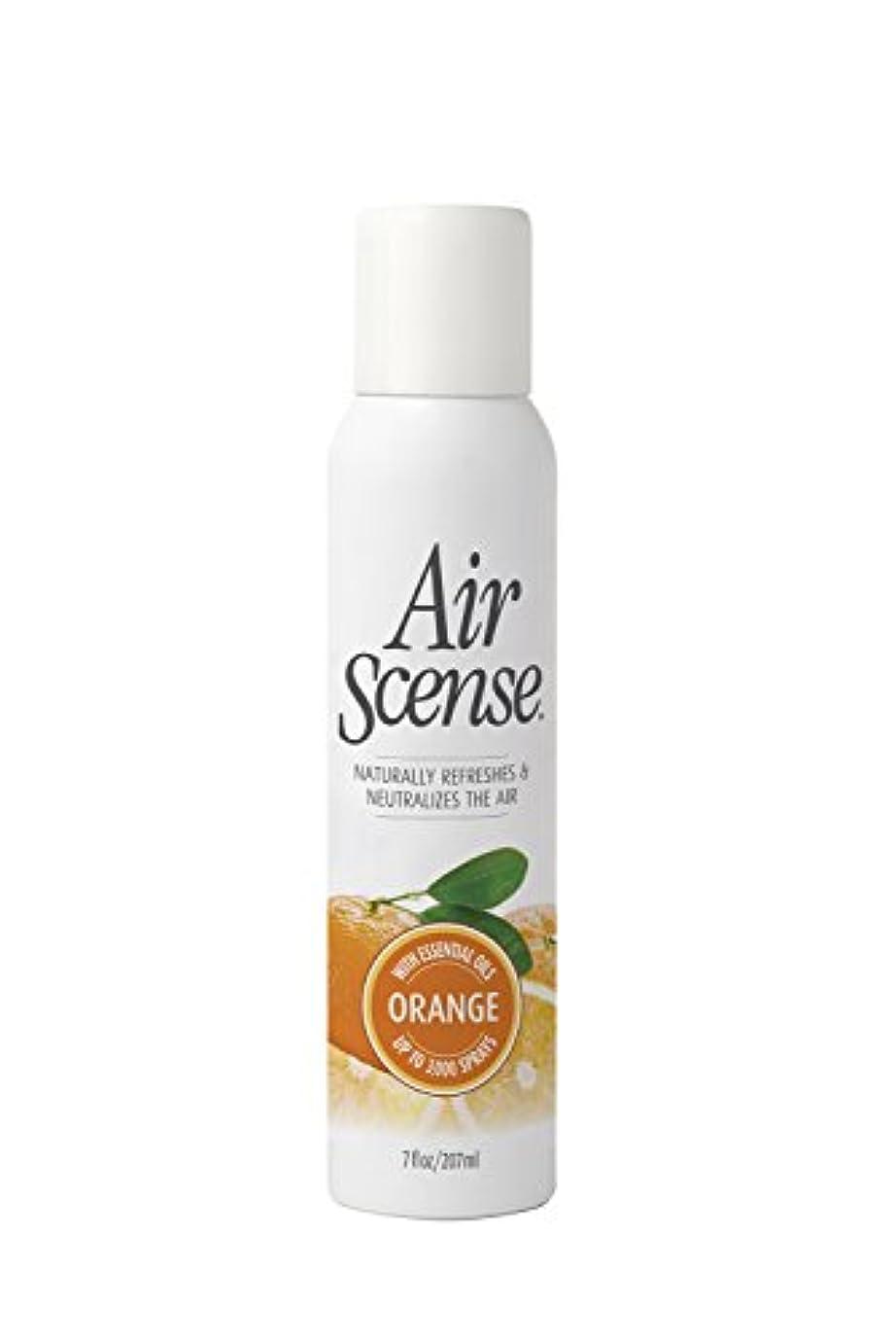 積分虚偽社説Air Scense - オレンジ芳香剤、4 X 7のFz