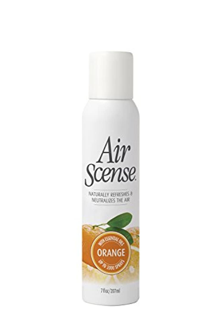 回転物理的なピービッシュAir Scense - オレンジ芳香剤、4 X 7のFz