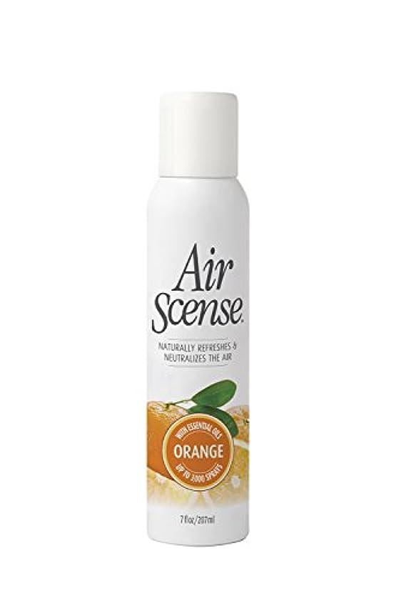 触手列車腹部Air Scense - オレンジ芳香剤、4 X 7のFz
