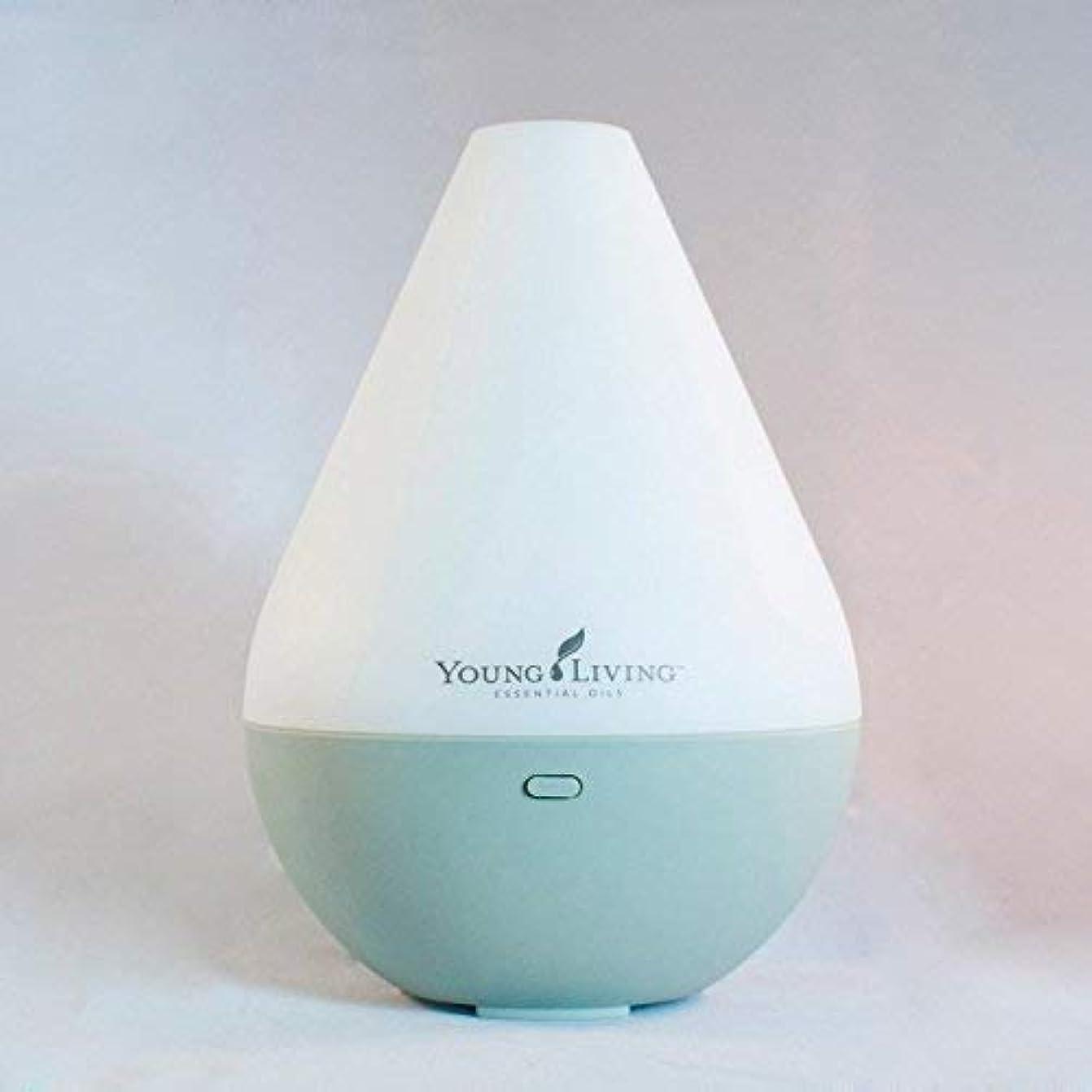 洗剤廊下応じるLiving Young ヤングリビングデュードロップエッセンシャルオイル超音波ホームディフューザー
