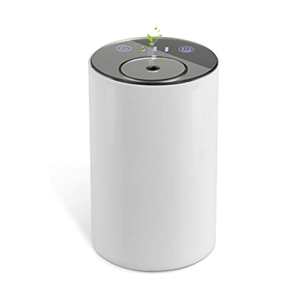 ライラック匹敵しますペンアロマディフューザー ネブライザー式 水なし 充電式 静音 噴霧 ミスト量調整可 タイマー機能 車用 エッセンシャルオイルの節約
