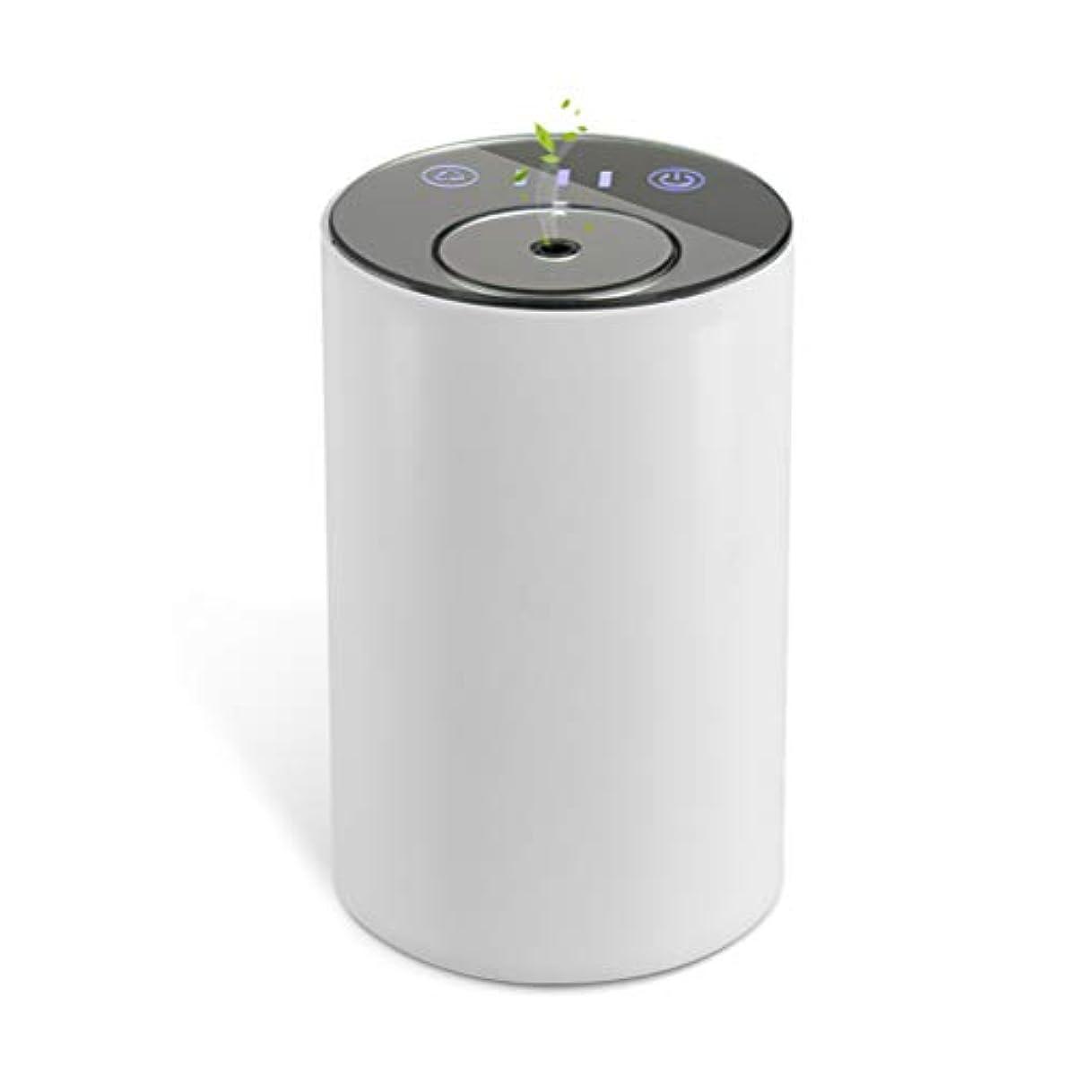 接尾辞トロピカル実用的アロマディフューザー ネブライザー式 水なし 充電式 静音 噴霧 ミスト量調整可 タイマー機能 車用 エッセンシャルオイルの節約
