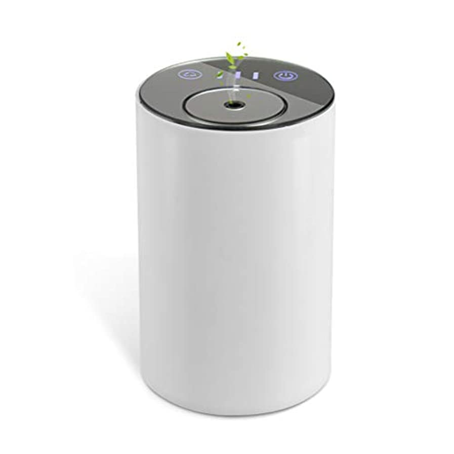 無効価値のない泣き叫ぶアロマディフューザー ネブライザー式 水なし 充電式 静音 噴霧 ミスト量調整可 タイマー機能 車用 エッセンシャルオイルの節約