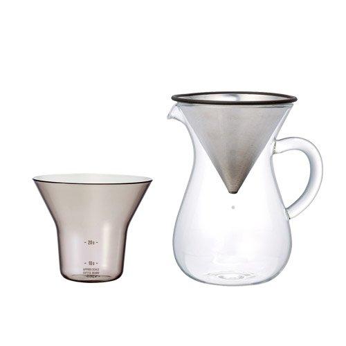 RoomClip商品情報 - スローコーヒースタイル コーヒーカラフェセット 300ml ステンレス SLOW COFFEE STYLE COFFEE CARAFE SET 300ml KINTO