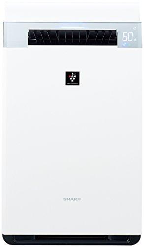 シャープ 加湿空気清浄機 プレミアムモデル プラズマクラスター25000 21畳 / 空気清浄 34畳 ホワイト KI-GX75-W