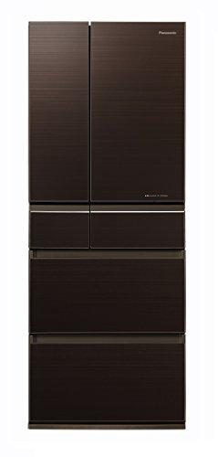 パナソニック 冷蔵庫 6ドア 450L パーシャル搭載 マチュアダークブラウン NR-F454HPX-T