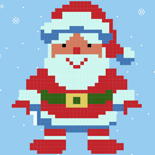 amazon co jp christmas 2018 pixel art easy christmas coloring