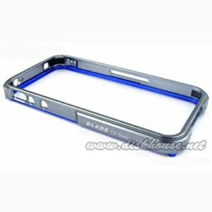 BLADE for iPhone4 ケース - Silver/Blue 05P4BLAD-SVBL