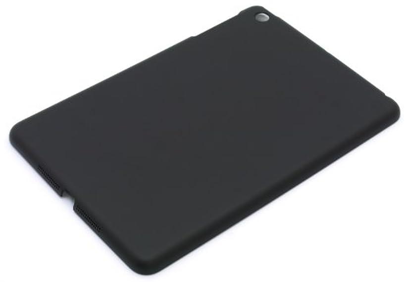 インスタントあざ予測するパワーサポート エアージャケットセット for iPad mini(ラバーブラック/ノーマルタイプ) PIM-72