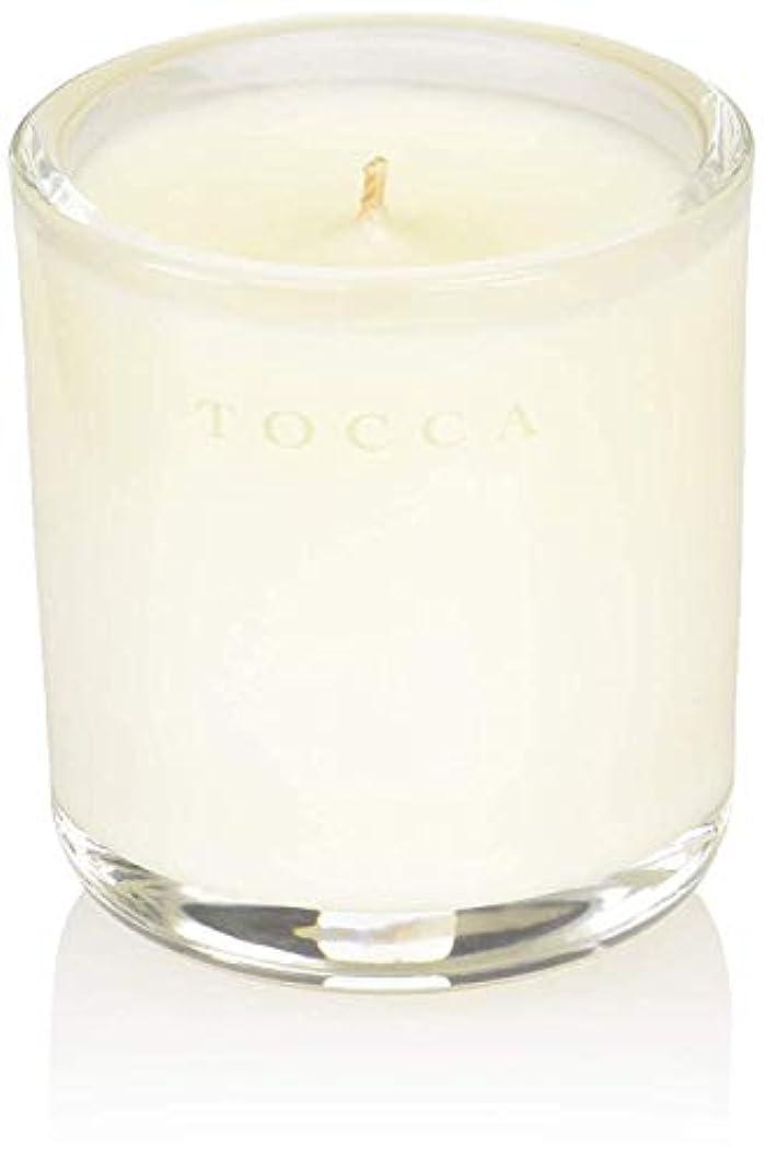 を通して炭素トランペットTOCCA(トッカ) ボヤージュ キャンデリーナ カプリ 85g (ろうそく 芳香 柑橘とメロンの魅惑なシトラスな香り)