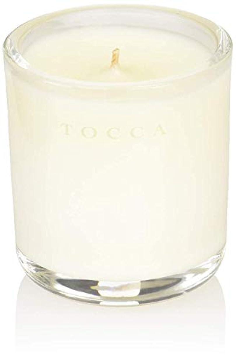 燃やす財団フォーラムTOCCA(トッカ) ボヤージュ キャンデリーナ カプリ 85g (ろうそく 芳香 柑橘とメロンの魅惑なシトラスな香り)