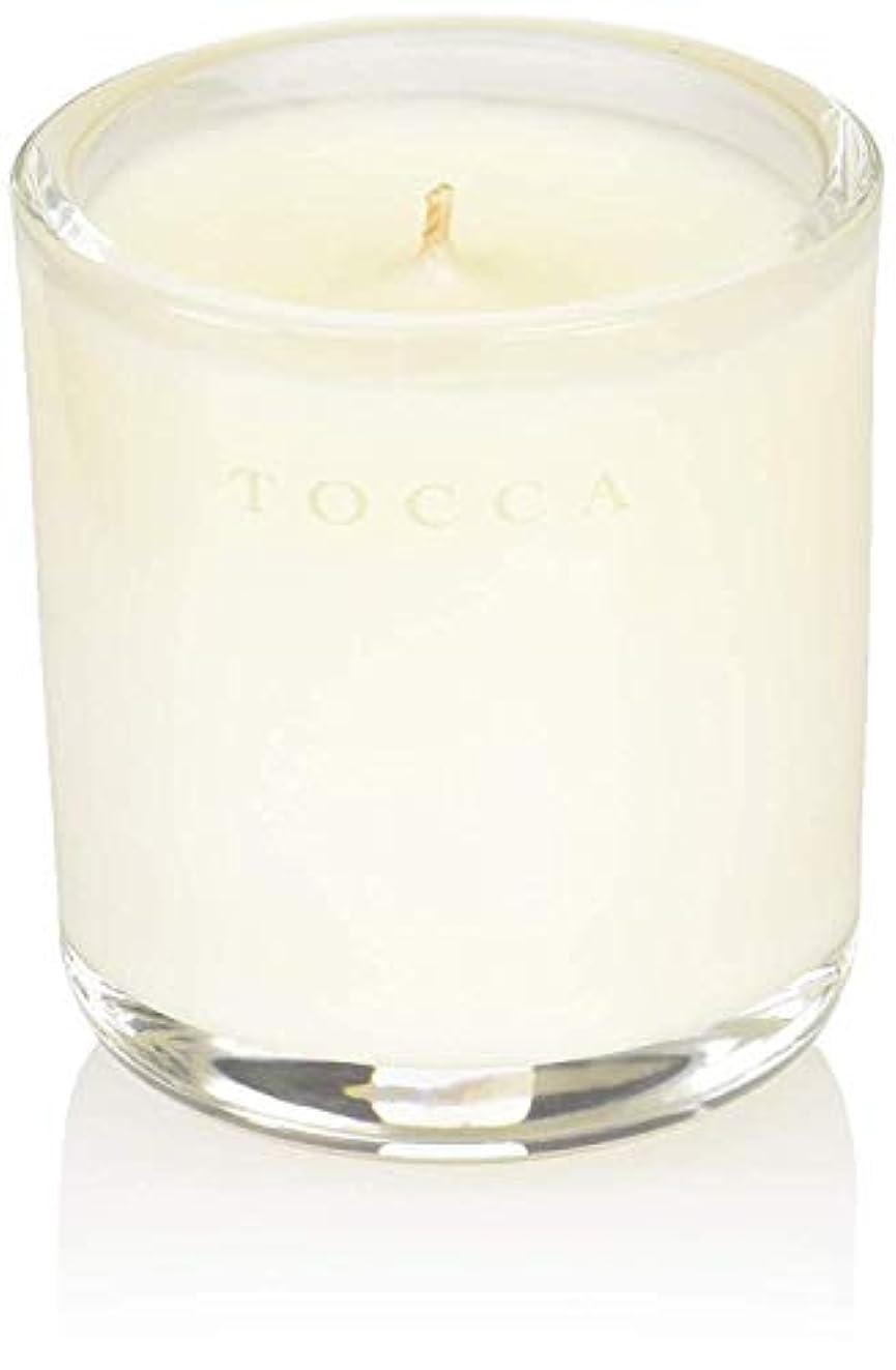 入札すり減る行商人TOCCA(トッカ) ボヤージュ キャンデリーナ カプリ 85g (ろうそく 芳香 柑橘とメロンの魅惑なシトラスな香り)
