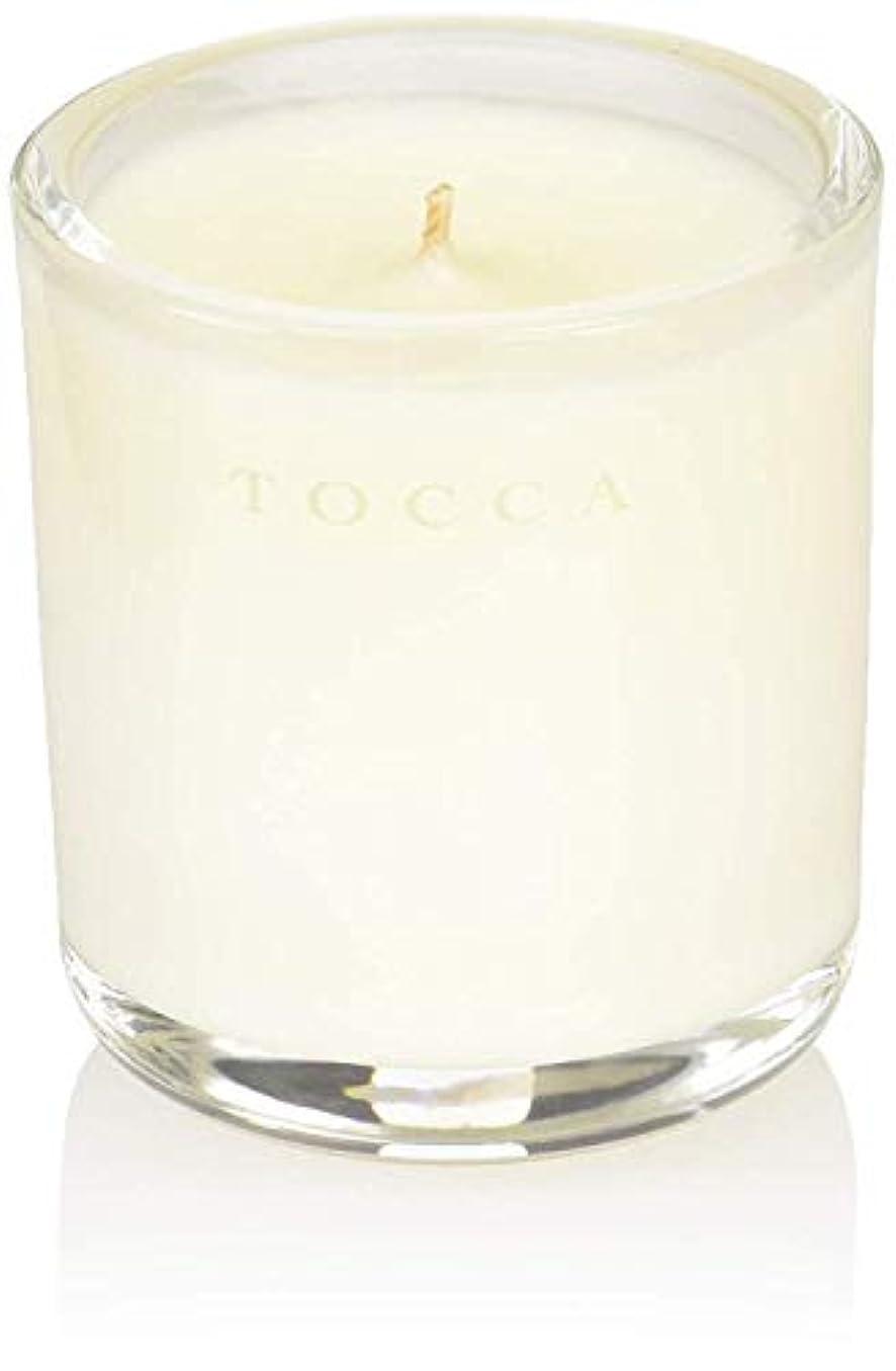 ハリケーン交通自発的TOCCA(トッカ) ボヤージュ キャンデリーナ カプリ 85g (ろうそく 芳香 柑橘とメロンの魅惑なシトラスな香り)