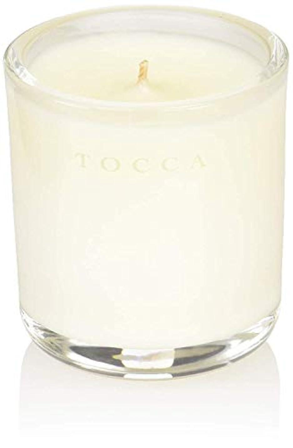 自発保険をかける引き潮TOCCA(トッカ) ボヤージュ キャンデリーナ カプリ 85g (ろうそく 芳香 柑橘とメロンの魅惑なシトラスな香り)