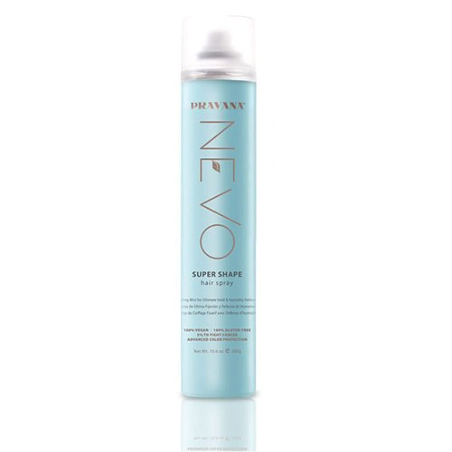 バック黒変換PRAVANA NEVO SUPER SHAPE ULTIMATE HOLD STYLING MIST HAIRSPRAY - 10.6oz by Pravana