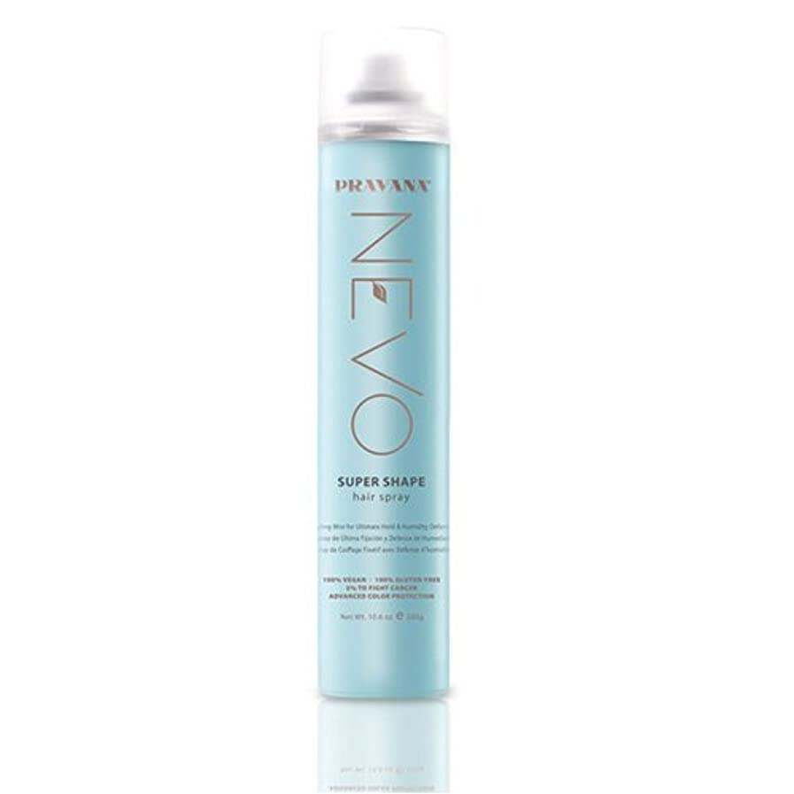 PRAVANA NEVO SUPER SHAPE ULTIMATE HOLD STYLING MIST HAIRSPRAY - 10.6oz by Pravana