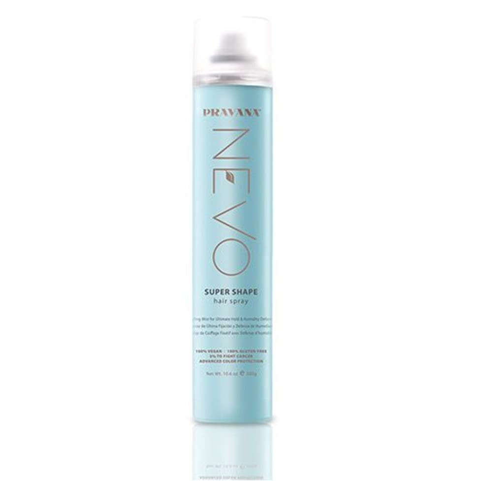 ブルジョン種をまくそれるPRAVANA NEVO SUPER SHAPE ULTIMATE HOLD STYLING MIST HAIRSPRAY - 10.6oz by Pravana