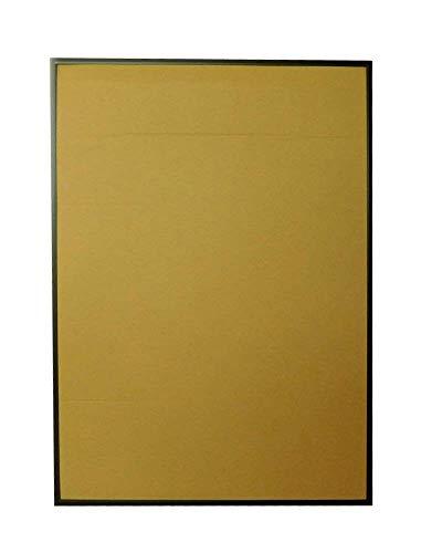 ポスターフレーム A1 (594x841mm) アルミ製 ブラック (10枚セット) UVカットペット板仕様
