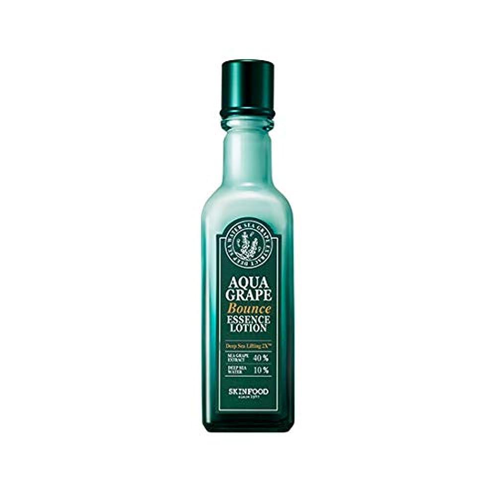 欠かせない配送解任Skinfood アクアグレープバウンスエッセンスローション/Aqua Grape Bounce Essence Lotion 120ml [並行輸入品]